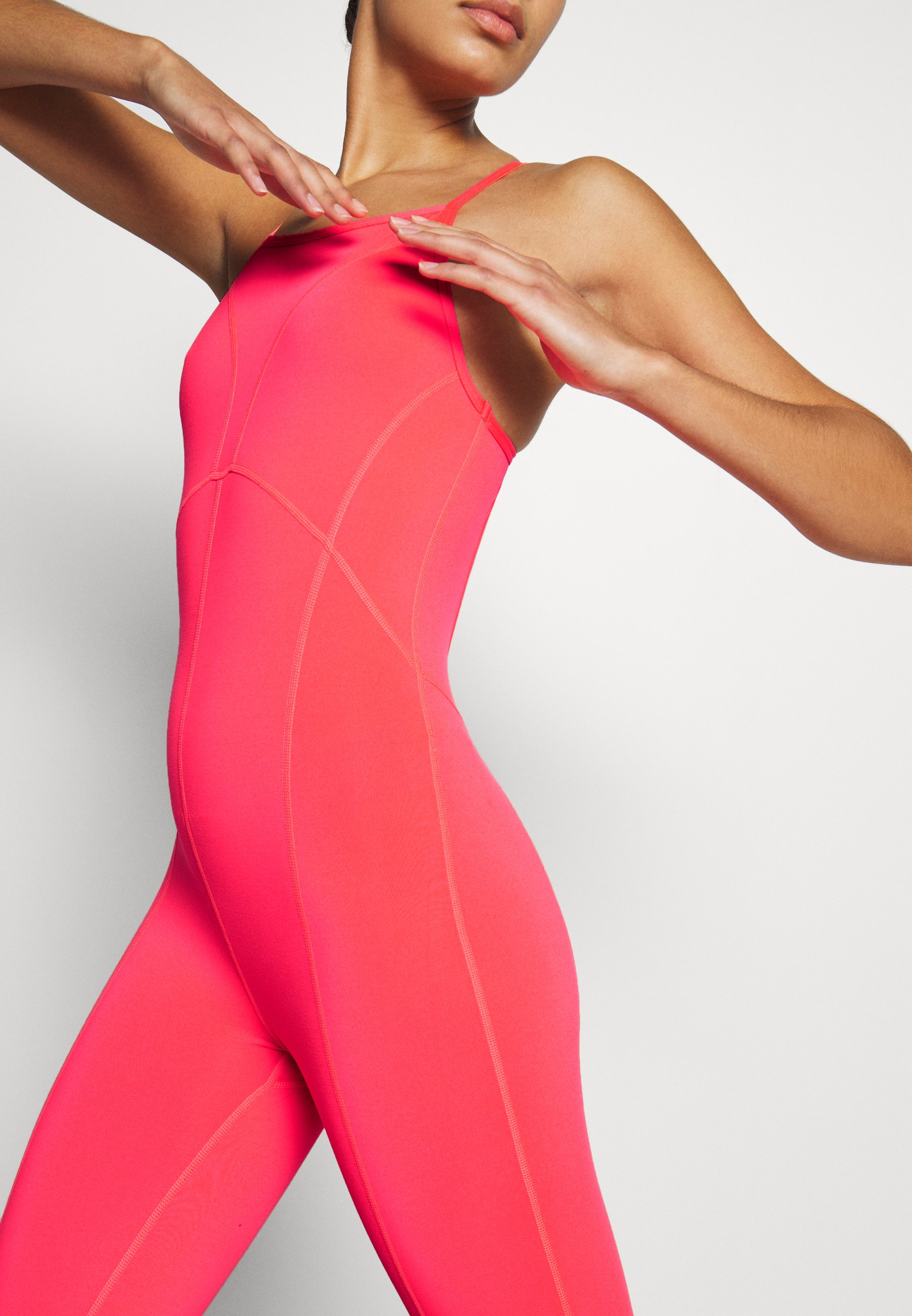Free People SIDE TO SIDE PERFORMANCE - Gym suit - papaya wofCZ
