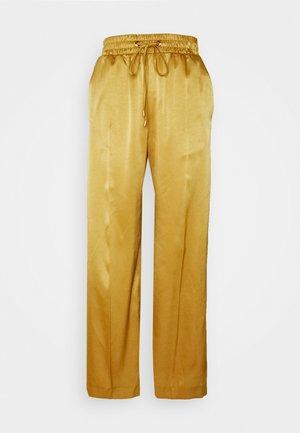 Pantalon classique - gold