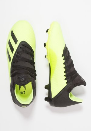X 18.3 FG  - Moulded stud football boots - solar yellow/core black