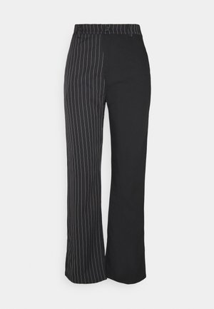 PANTS - Tygbyxor - black