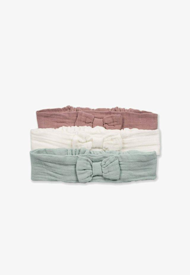 3 PACK - Accessori capelli - copper/ off-white/ light green