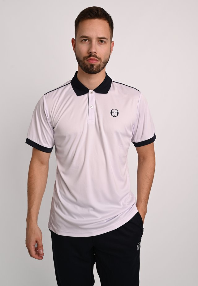 Polo shirt - wht/nav
