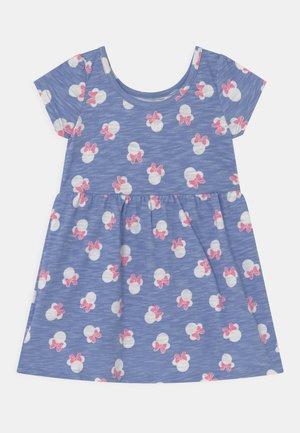 DISNEY MINNIE MOUSE TODDLER GIRL DRESS - Vestito di maglina - blue