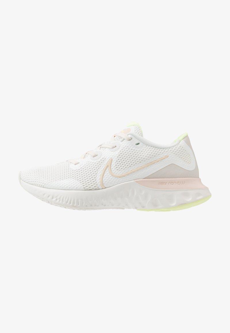 Nike Performance - RENEW RUN - Zapatillas de running neutras - summit white/guava ice/light bone