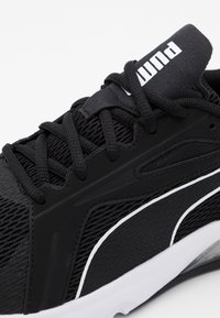 Puma - LQDCELL METHOD - Scarpe running neutre - black/white - 5