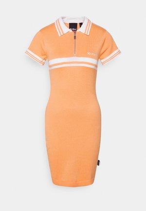 POLO DRESS - Korte jurk - coral