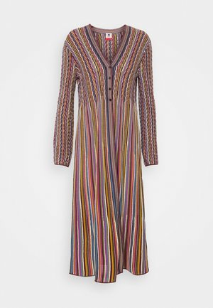 MAXI CARDIGAN DRESS COMBO - Neuletakki - multicolor