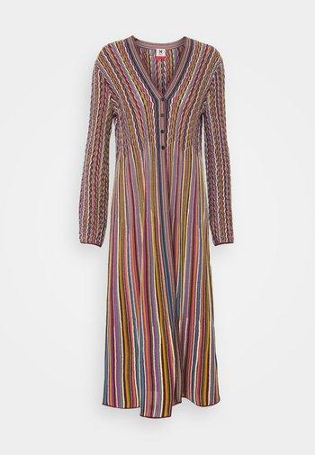 MAXI CARDIGAN DRESS COMBO - Gilet - multicolor