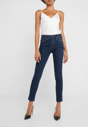 THE 7-POCKET STILETTO - Jeansy Skinny Fit - demir