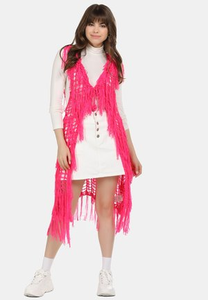 Waistcoat - neon pink