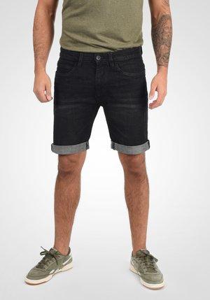 QUENTIN - Denim shorts - black