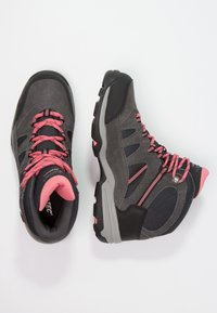 Hi-Tec - BANDERA II WP  - Hiking shoes - charcoal/graphite/blossom - 2