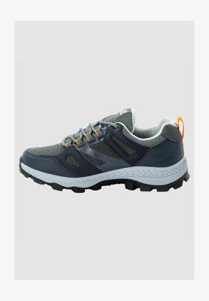 Walking shoes - dark blue / grey