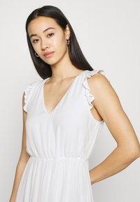 Vila - VIBASI FESITVAL DRESS - Day dress - snow white - 3