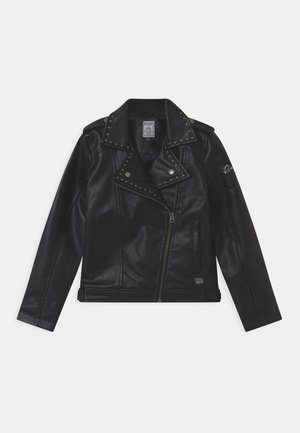 TIARRA - Faux leather jacket - black