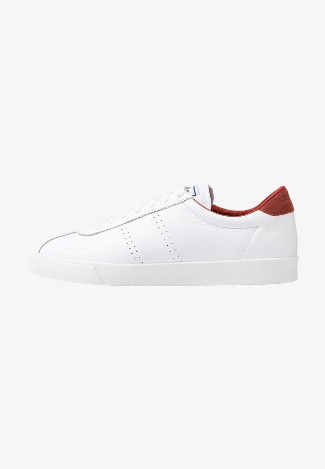 2843 COMFLEAU - Sneakersy niskie - white/brown burnt