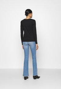 JDY - XMAS TEE - Long sleeved top - black - 2