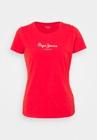 Pepe Jeans - NEW VIRGINIA - Print T-shirt - mars red - 4