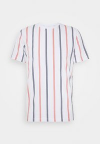 Jack & Jones - JORJERRY TEE CREW NECK  - T-shirt print - white - 4