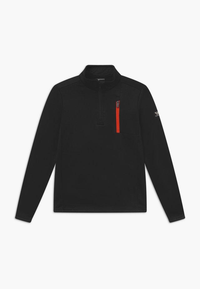 ORLANDO BOYS - Fleece jumper - black