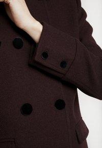 NAF NAF - CHARLOTTE - Zimní kabát - prune - 6