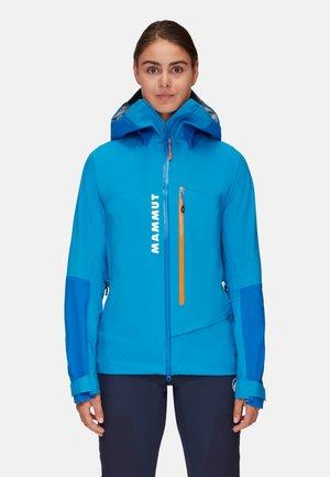 AENERGY AIR HS - Hardshell jacket - gentian-ice