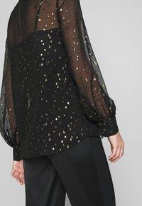 KARL LAGERFELD - Button-down blouse - black - 6