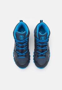 TrollKids - KIDS RONDANE MID UNISEX - Hiking shoes - navy/medium blue - 3