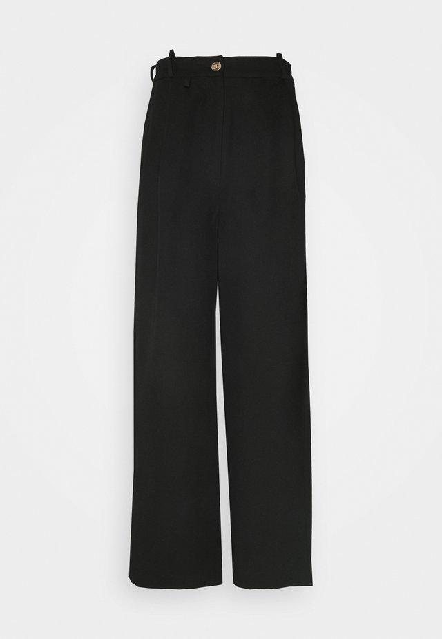 ANGELLA WIDE TROUSER - Pantaloni - black