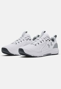 Under Armour - CHARGED COMMIT TR  - Træningssko - white/gray - 1