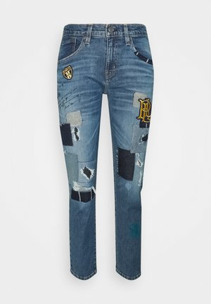 Relaxed fit jeans - tinted sapphire