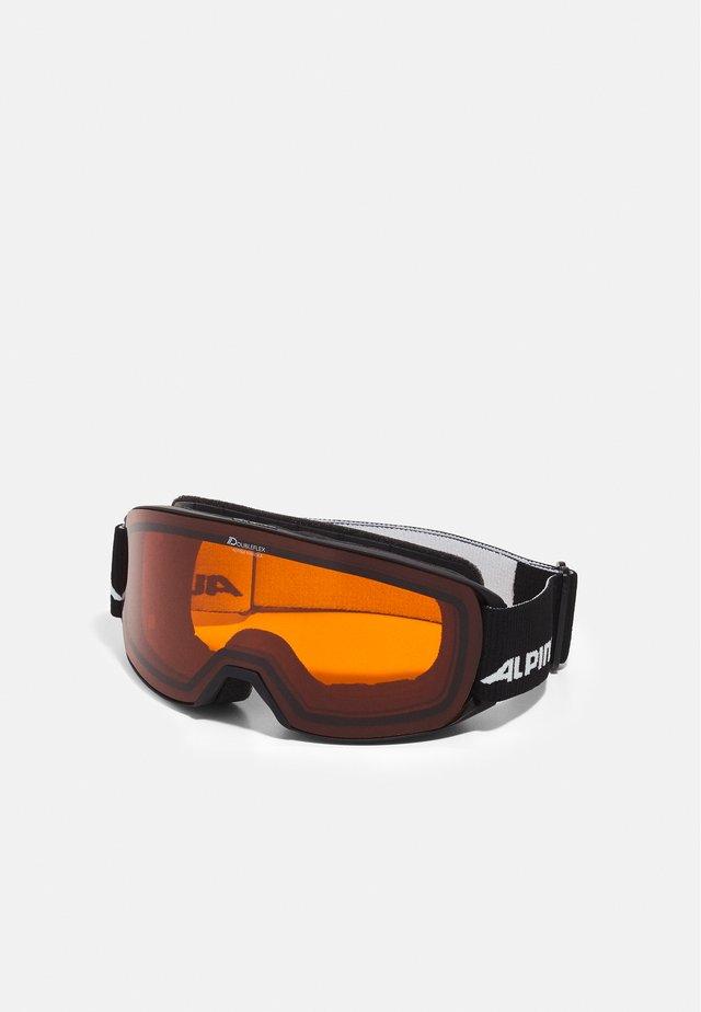 NAKISKA - Skidglasögon - black