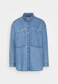 Button-down blouse - blue medium dusty