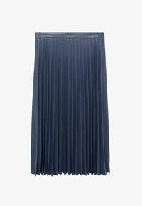 Violeta by Mango - PLISA - A-line skirt - azul - 4
