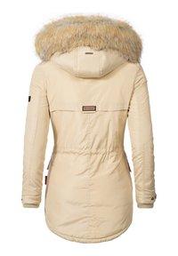 Marikoo - GRINSEKATZE - Winter coat - beige - 1