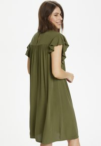 Culture - Day dress - burnt olive - 2