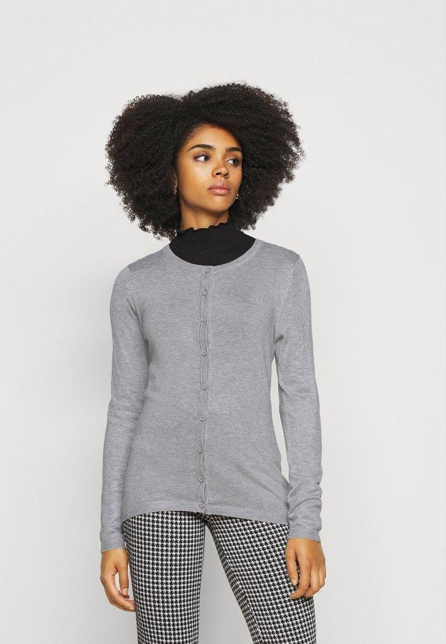 MAFA  - Stickad tröja - grey melange