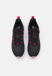 adidas Performance - NARIO MOVE - Sports shoes - core black/team real magenta - 3