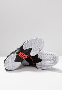 Nike Performance - AIR ZOOM CAGE - Clay court tennis shoes - black/white/bright crimson - 5