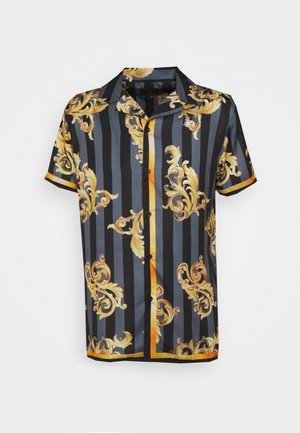 RESORT - Shirt - black/gold