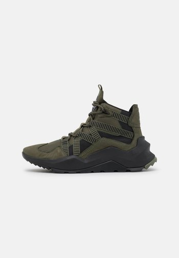 MADBURY HIKER - Lace-up ankle boots - dark green