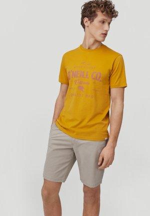 W-COAST - Print T-shirt - harvest gold