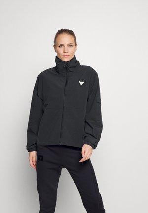 PROJECT ROCK - Sportovní bunda - black/summit white