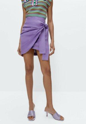 Wrap skirt - lilac