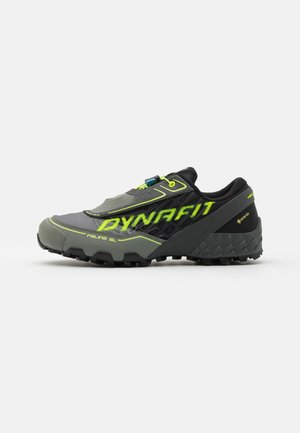 FELINE SL GTX - Trail running shoes - black/neon yellow
