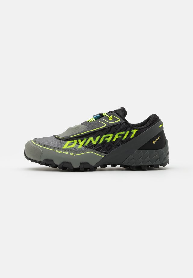 FELINE SL GTX - Scarpe da trail running - black/neon yellow