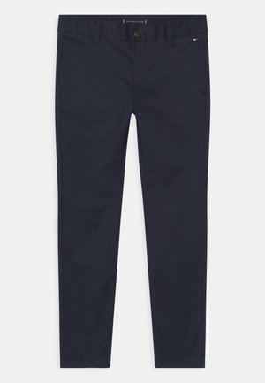ESSENTIAL FLEX SKINNY - Chino kalhoty - twilight navy