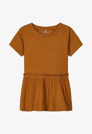 RIPPSTRUKTUR - T-Shirt print - glazed ginger