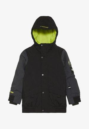 DECODE JACKET - Snowboardová bunda - black out