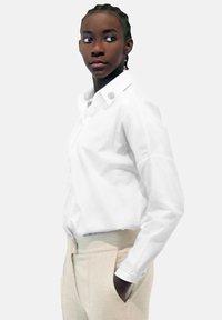 Aline Celi - Button-down blouse - white - 2